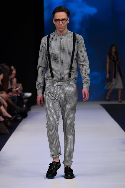 Pokaz kolekcji Jarosława Ewerta XIII FashionPhilosophy Fashion Week Poland (c) 2015 Mike Pasarella