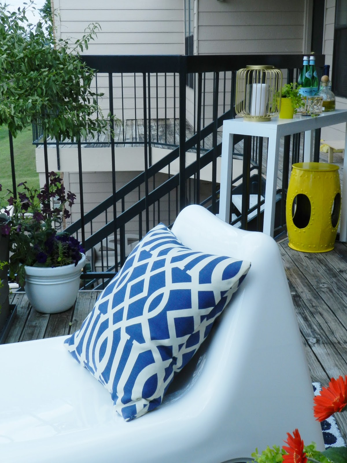 Heading Outdoors Balcony Details Cohesive Randomness
