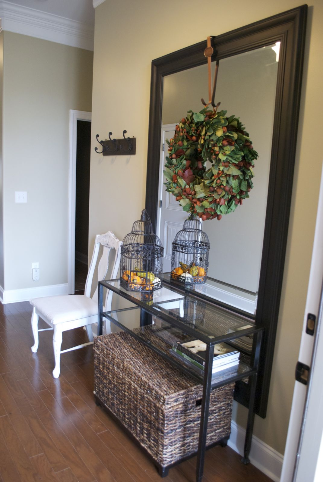 Entry Foyer Mirror : Low country living entry