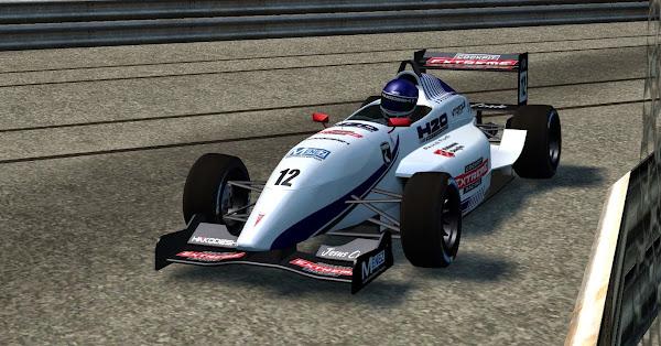 Pintura da 1ª equipe da H2O para o Fórmula XR é apresentado Lfs_00000516