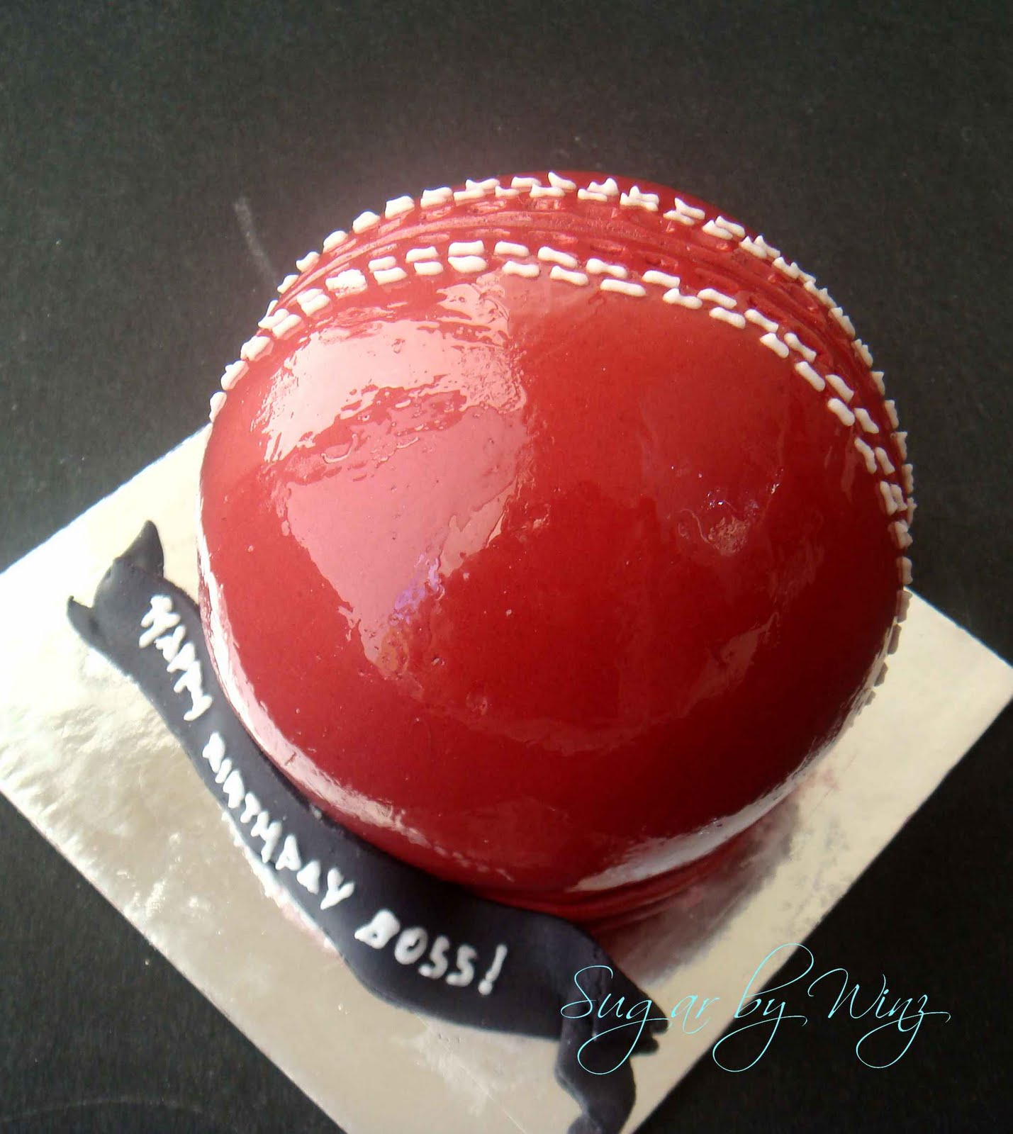 Cricket Ball Cake Images : Pin Cricket Ball Cake Flickr Photo Sharing Cake on Pinterest