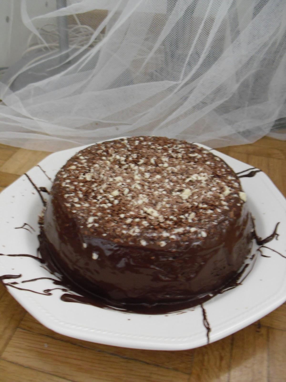 Decoraci n de bizcochos con chocolate los dulces de lulu - Decoracion con chocolate ...