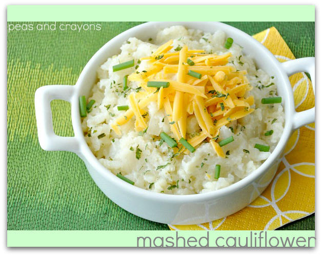 Caramelized Onion and Roasted Garlic Mashed Cauliflower
