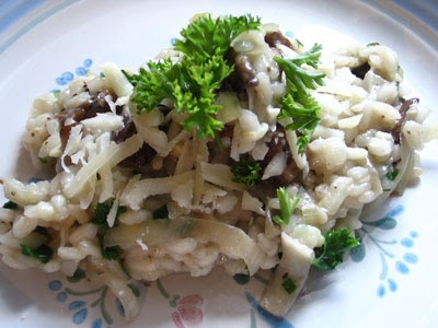 Lemon Risotto with Leeks and Mushrooms | Lisa's Kitchen ...