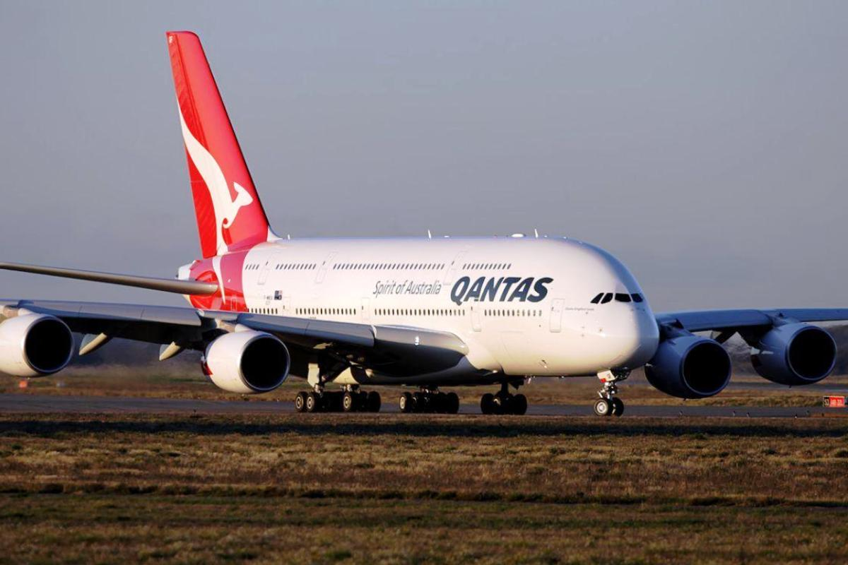Qantas Airbus 380. ZonaAero