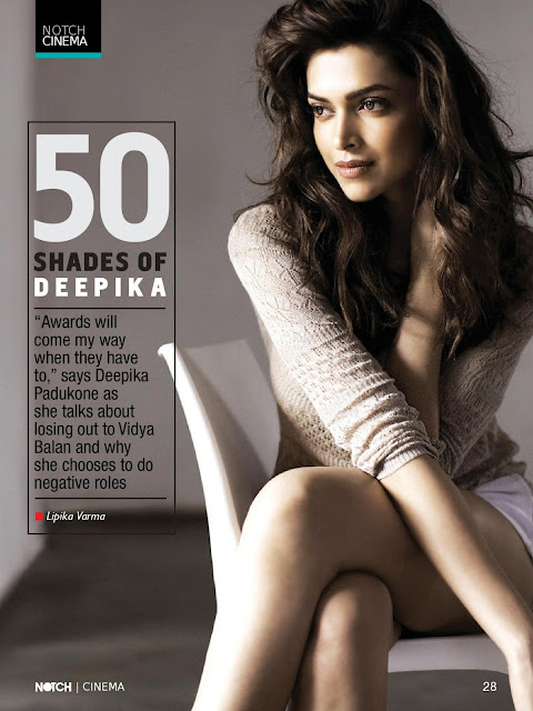 Deepika Padukone NOTCH Magazine
