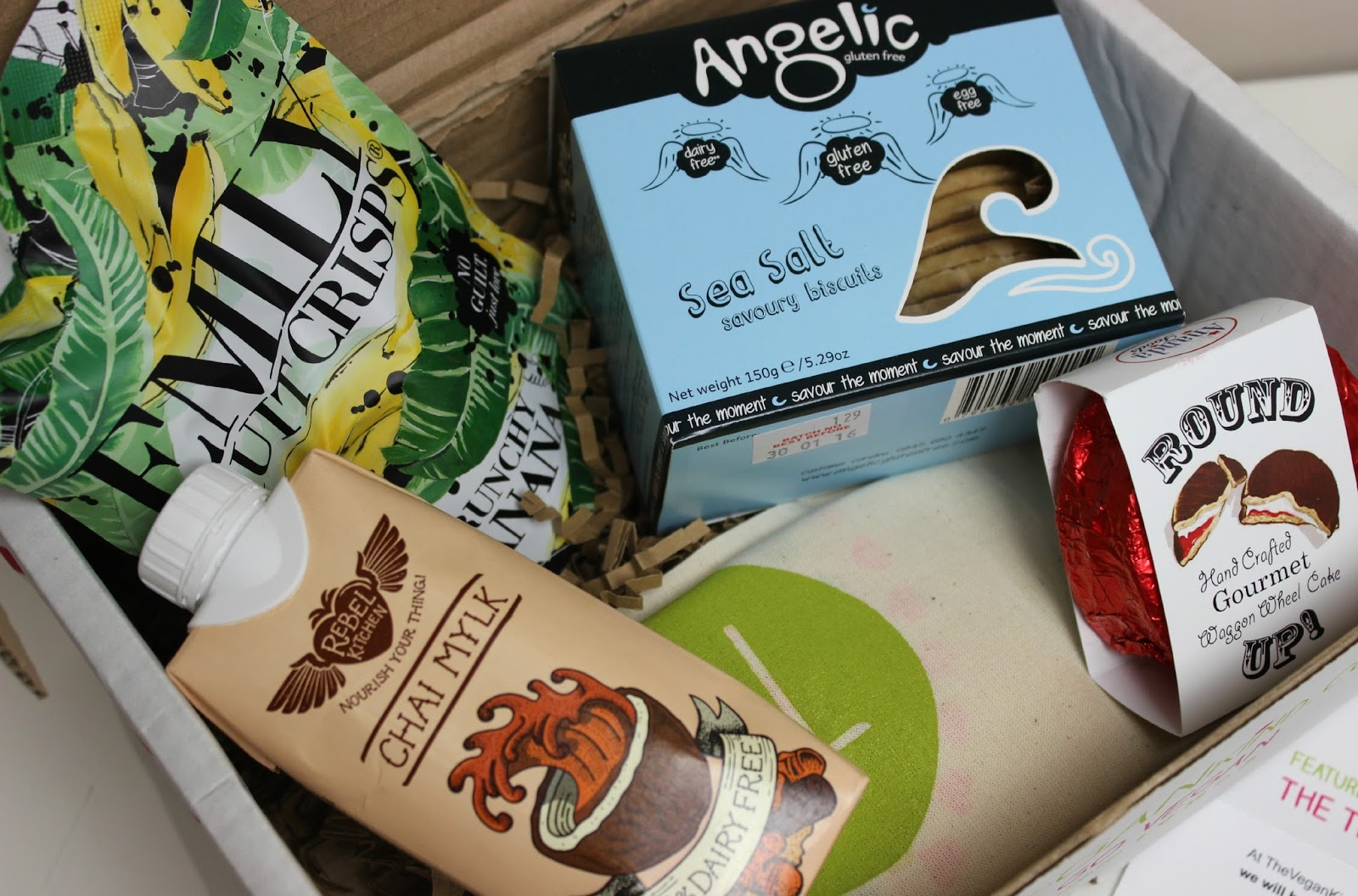 A picture of the March The Vegan Kind box
