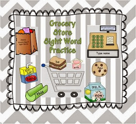 Grocery Sight Words