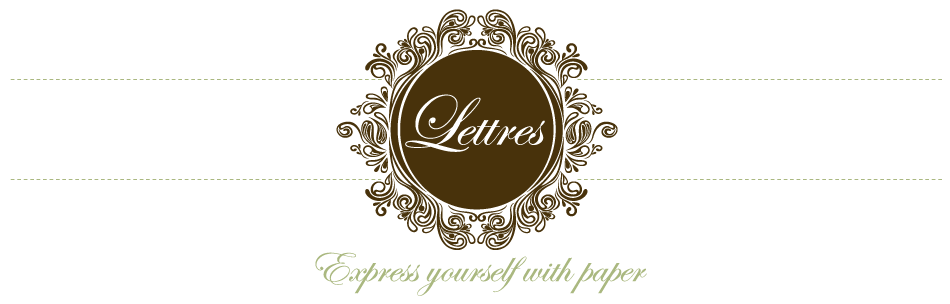 Lettres Stationery