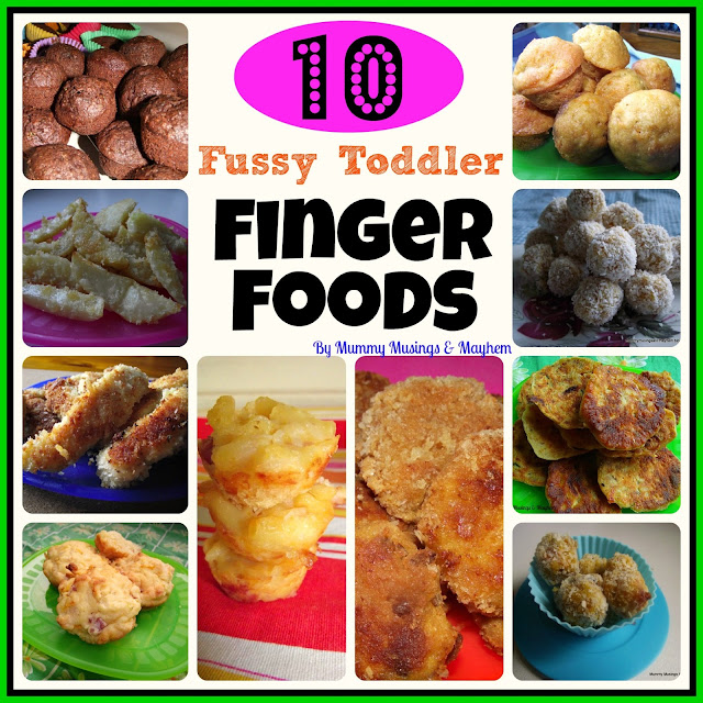 Fussy SPD Toddler finger foods