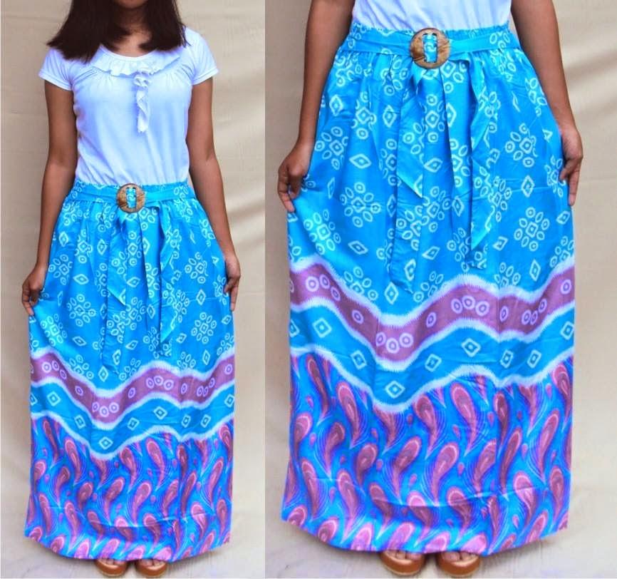rok-batik-merak-warna-biru