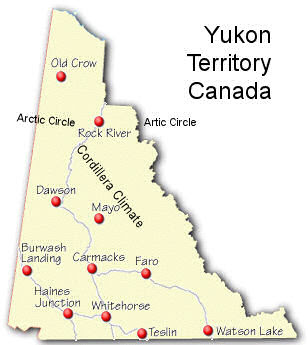 Yukon Territory Mapthe Yukons Allure For Me Is Not The Gold But - Yukon map