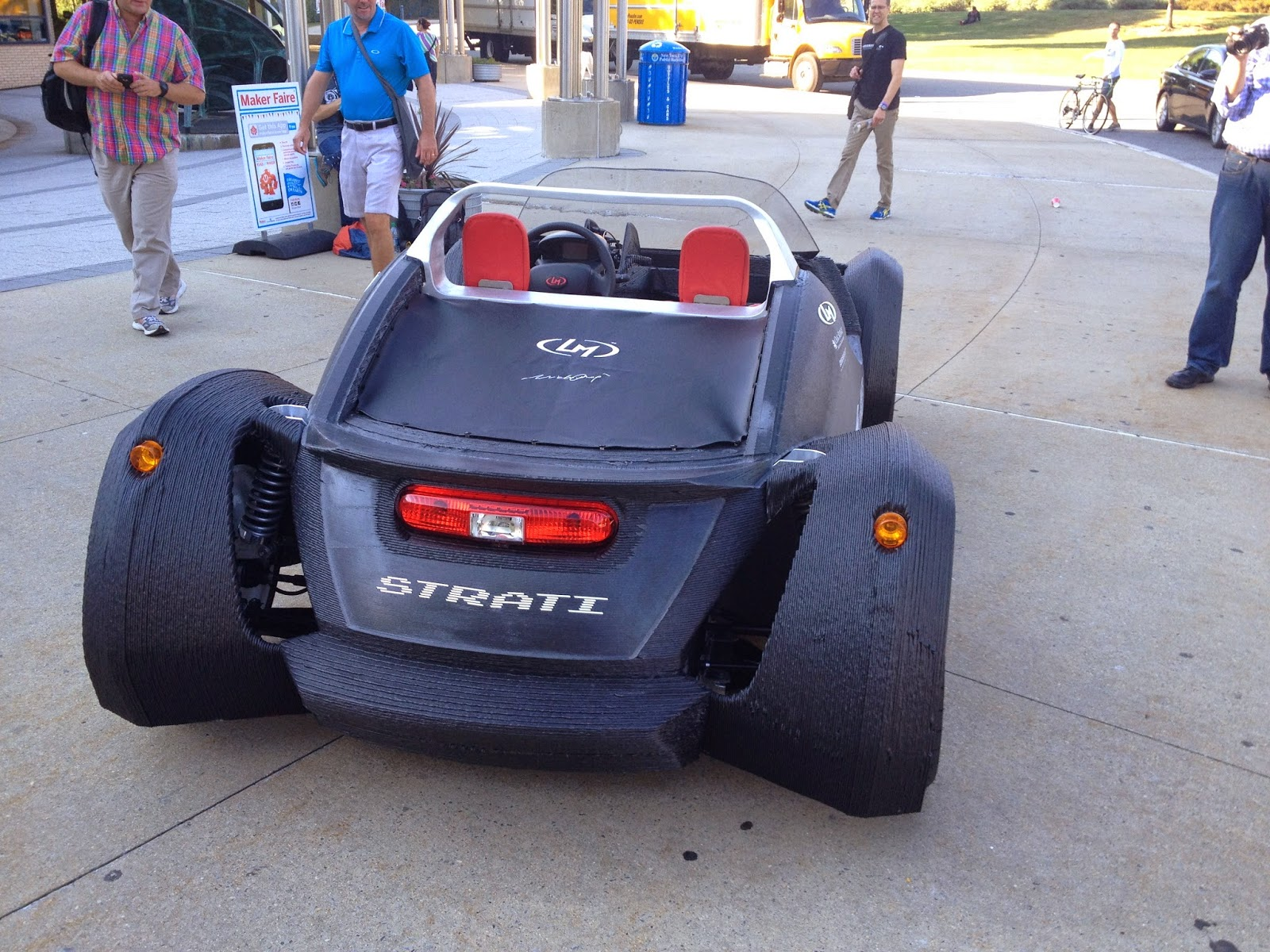 I bioloid 3d printed car by local motors for Local motors 3d printed car