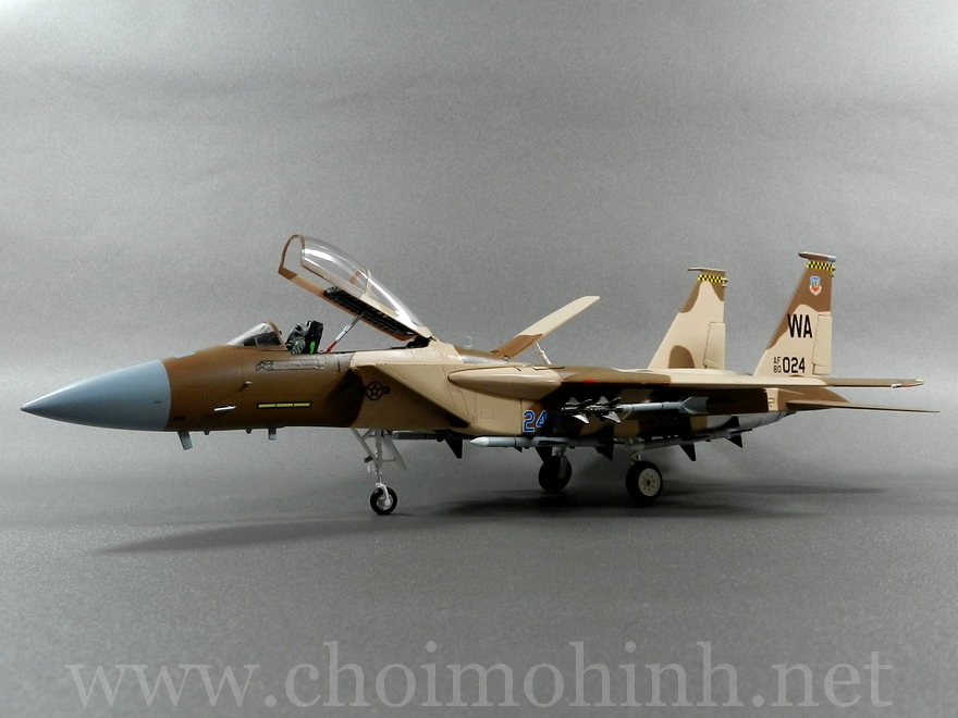 F-15C Eagle Aggressor USAF 1:72 Witty Wings side