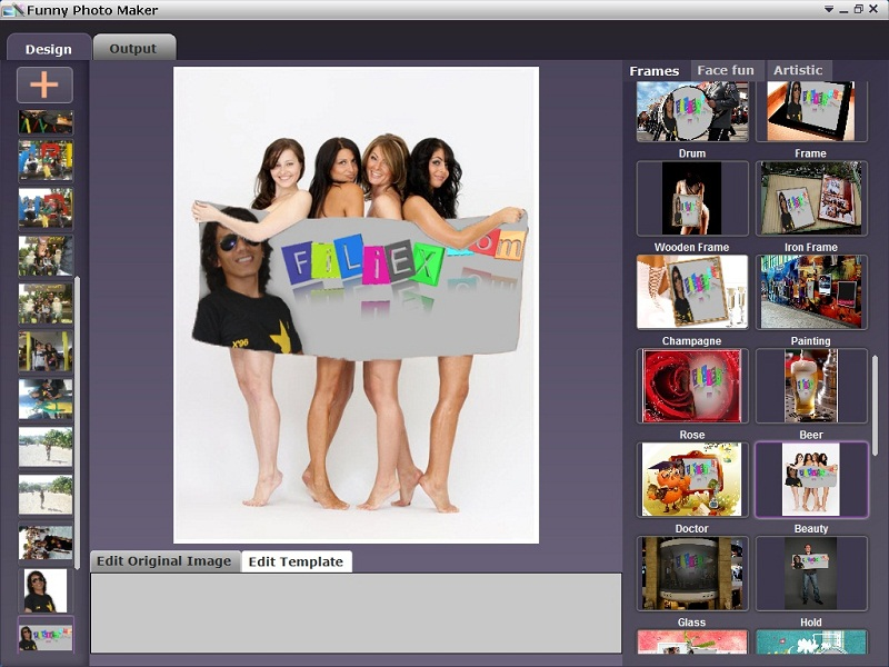 Funny face editor online free