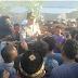 Masa Aksi Melakukan Pemblokiran Jalan Lintas Sumbawa
