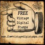 FREE vintage digi stamps!