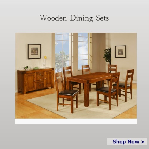 Wooden dinin sets