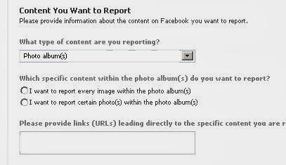 facebook copyright infringement