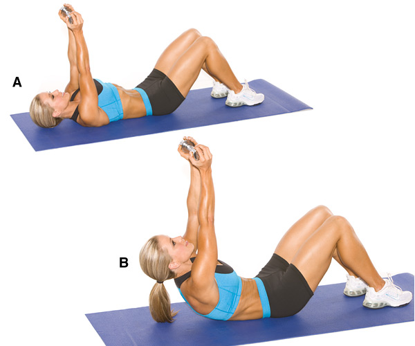 Runner In The Real World Dumbbells And Stability Ball Core