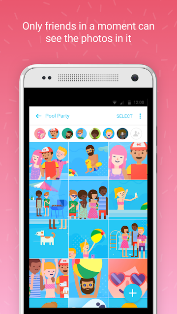 Facebook Introducing New Photo App - Moments screen shot