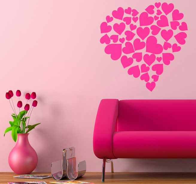 Beauty ideas para decorar tu cuarto 1 for Decoracion para pared san valentin