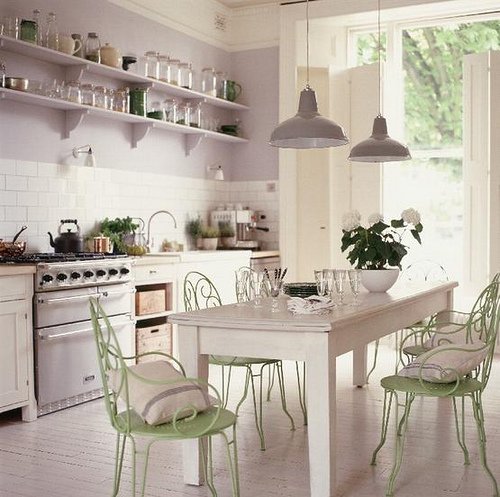 Shabby Chic A Time To Cook Kitchen Decor Ideas 2012 I