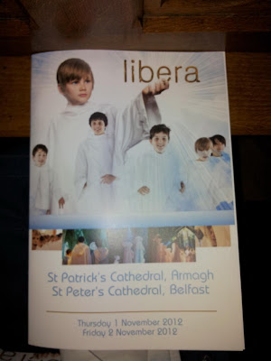 Libera concert programme
