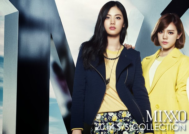 Lizzy & Jooyeon & Nana After School - Mixxo Spring Summer 2014