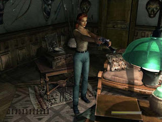 A arqueóloga poligonal Aline Cedrac, em uma das salas da mansão Morton