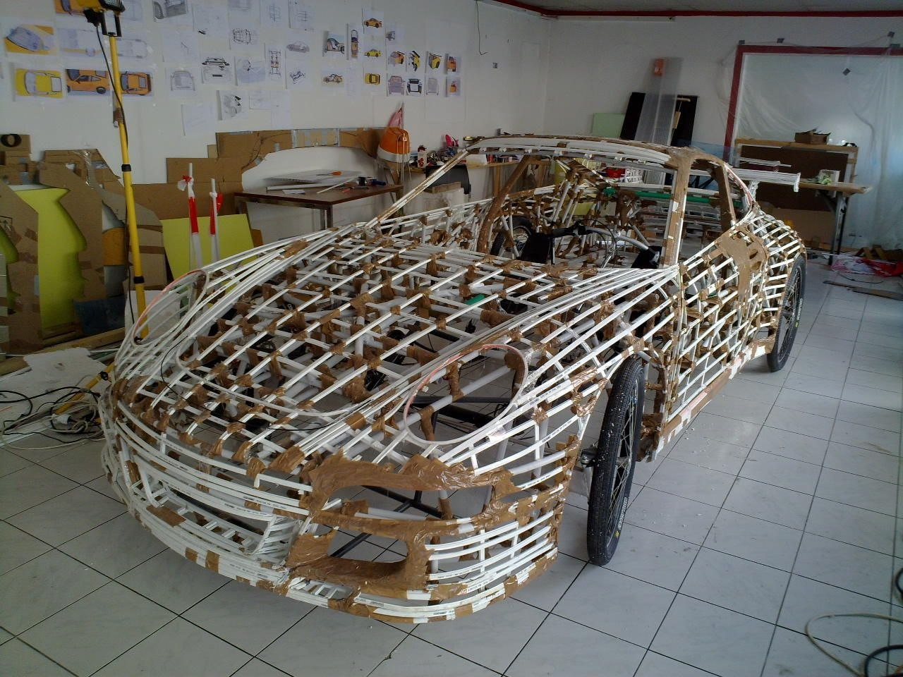 Изготовление модели корабля из стеклоткани своими руками
