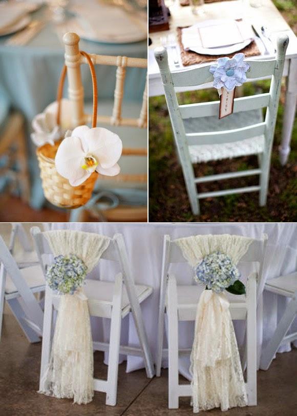 decoracion de sillas para bodas parte 1