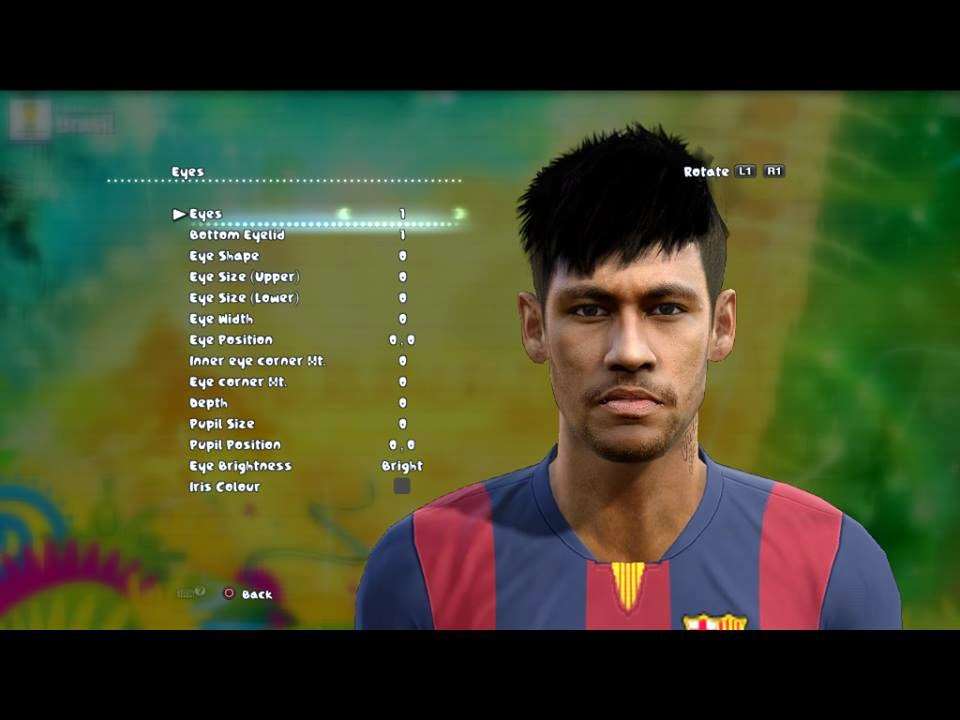 PES 2013 Neymar Face by Ludvan