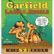 GARFIELD LARD OF JUNGLE HIS 52ND BOOK By Davis Jim **BRAND NEW**
