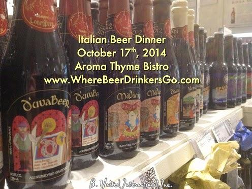 Italian Beer Dinner