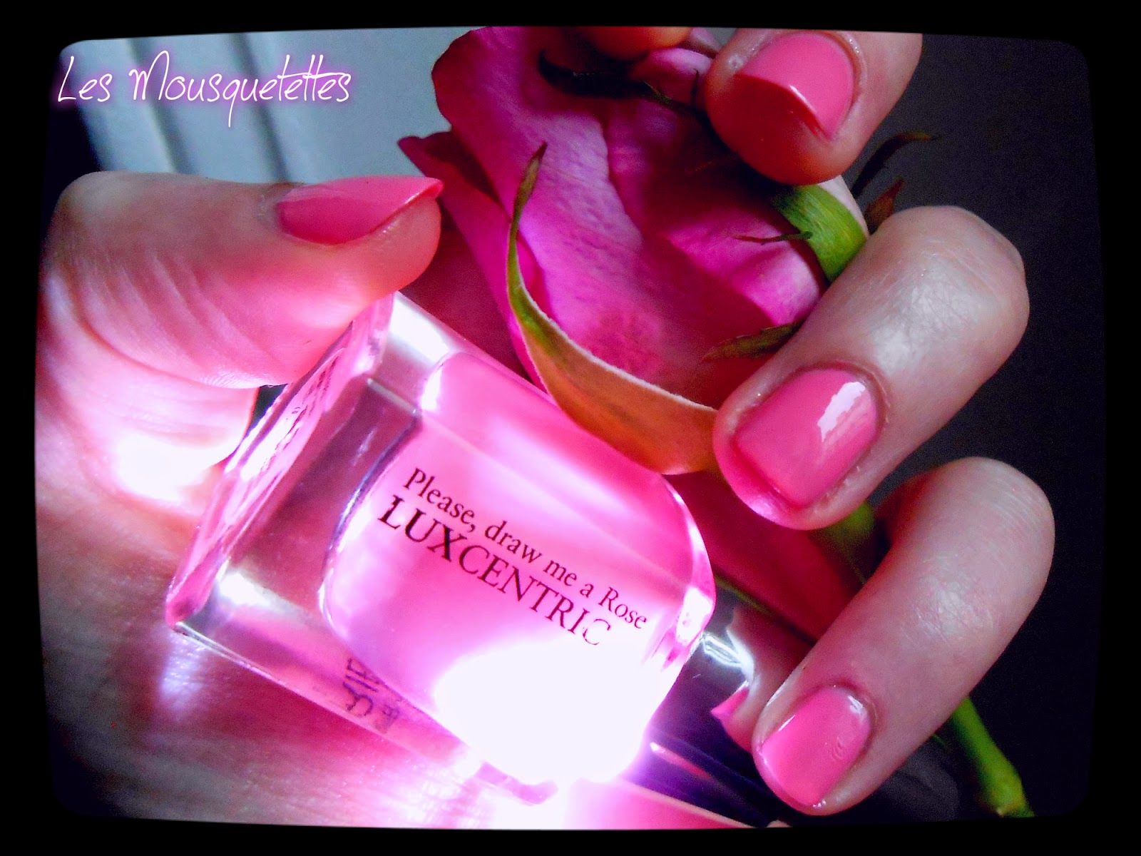 Vernis Please, Draw me a Rose Gregory Ferrié Paris - Les Mousquetettes©