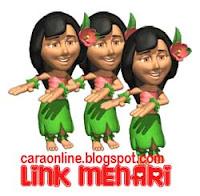 cara link menari di blog