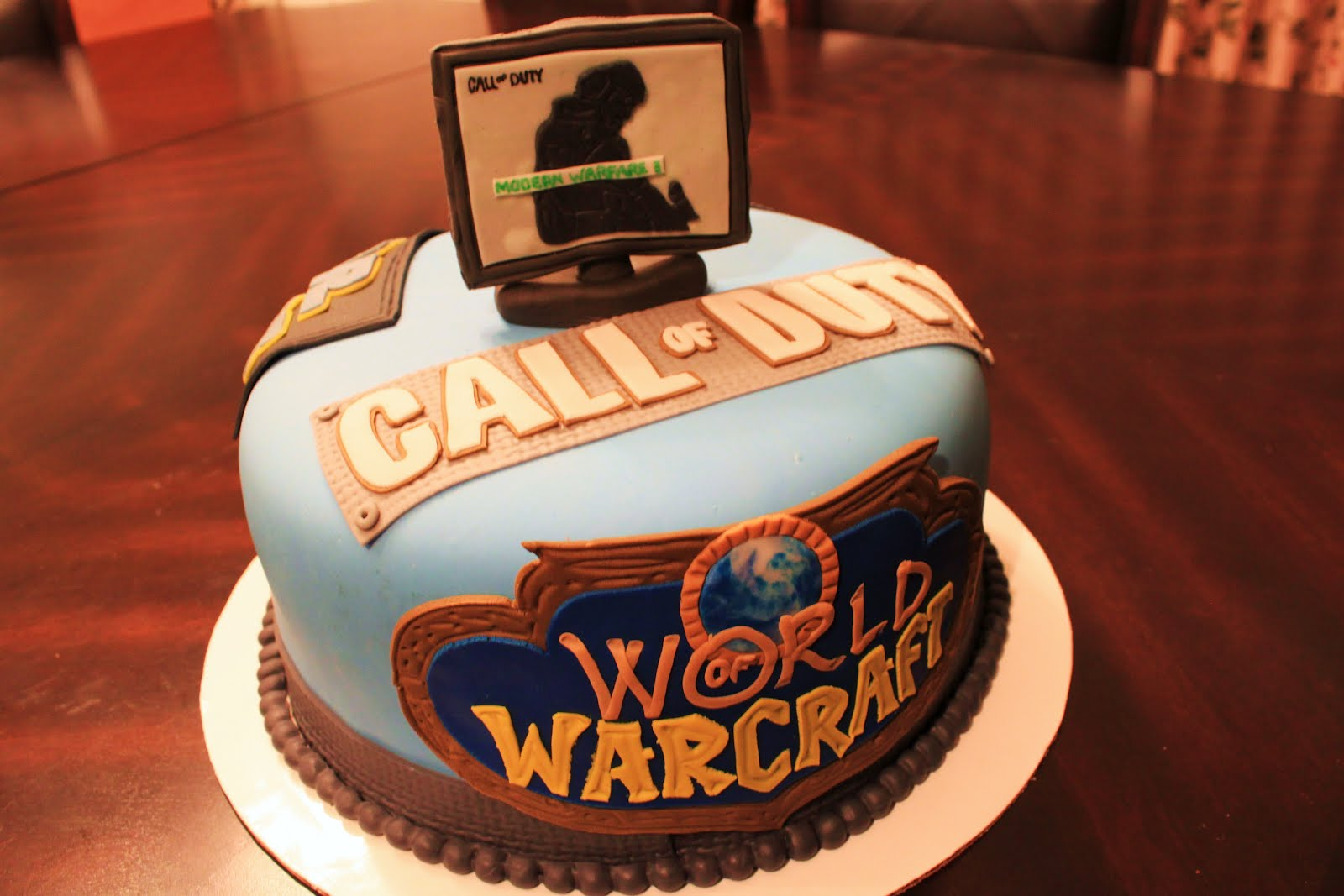 Layers Of Love Video Game Cake
