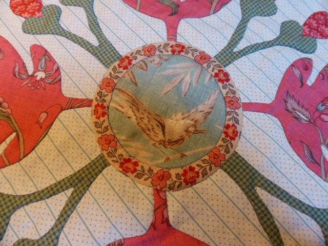 Antique Wedding Sampler quilt