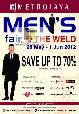 Metrojaya Men's Fair 2012
