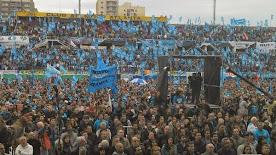 Masivo acto de Nuevo Encuentro en apoyo a Cristina