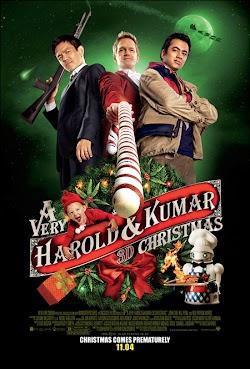 Câu Chuyện Giáng Sinh Của Harold Và Kumar - A Very Harold & Kumar 3d Christmas (2011) Poster