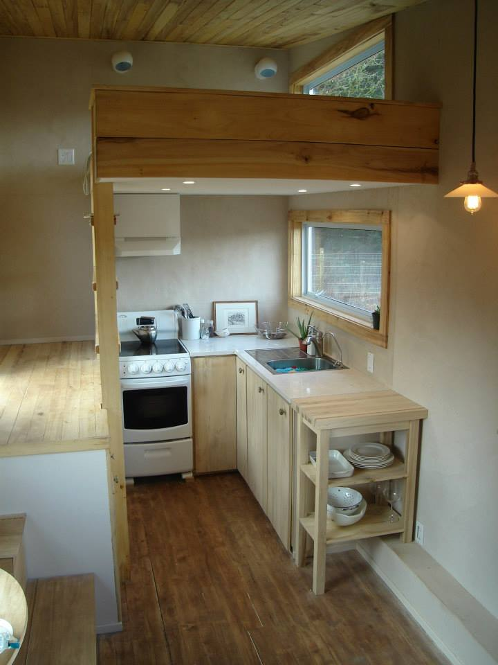 my tiny house. I Used Low Odour Poplar Wood Throughout The Interior Of House. Floors Are Stained With Natural Pigments And Finished Hemp Oil. My Tiny House