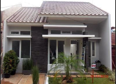 rumah mimnimalis type 45 modern dan elegan