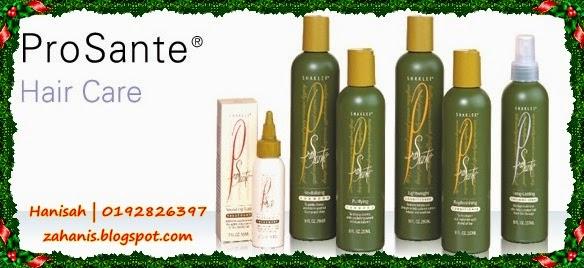 prosante shampoo shaklee