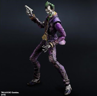 Square Enix Play Arts Kai Batman Arkham City Joker Figure