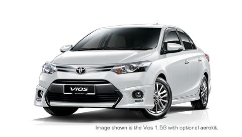 UMW Toyota Motor, melancarkan model Vios All-New dengan pelbagai naik