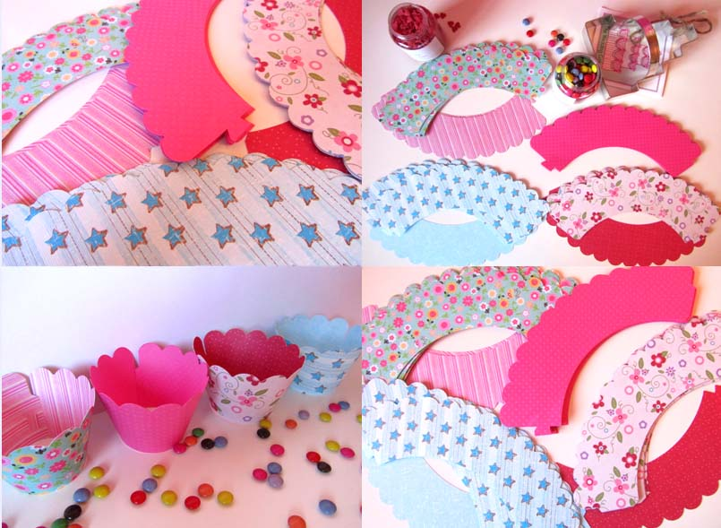 Wrappers para cupcakes gratis - Imagui