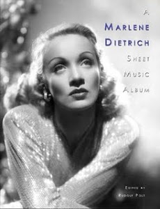 A Marlene Dietrich Sheet Music Album