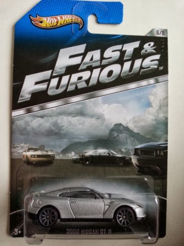 Hotwheels Fast and Furious Nissan GTR